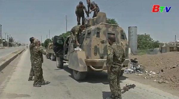 Lực lượng SDF tăng cường quân ở Raqqa