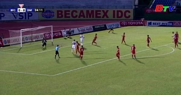 Vòng 16 V.League 2017- B.Bình Dương 3-4 SHB Đà Nẵng