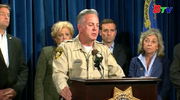 Vụ xả súng tại Las Vegas - Cảnh sát phát hiện kho súng tại nhà nghi can