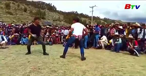 Peru - Lễ hội Takanakuy chào đón năm mới