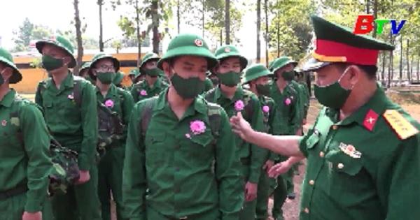 Quân đoàn 4 hoàn thành tiếp nhận chiến sĩ mới năm 2021