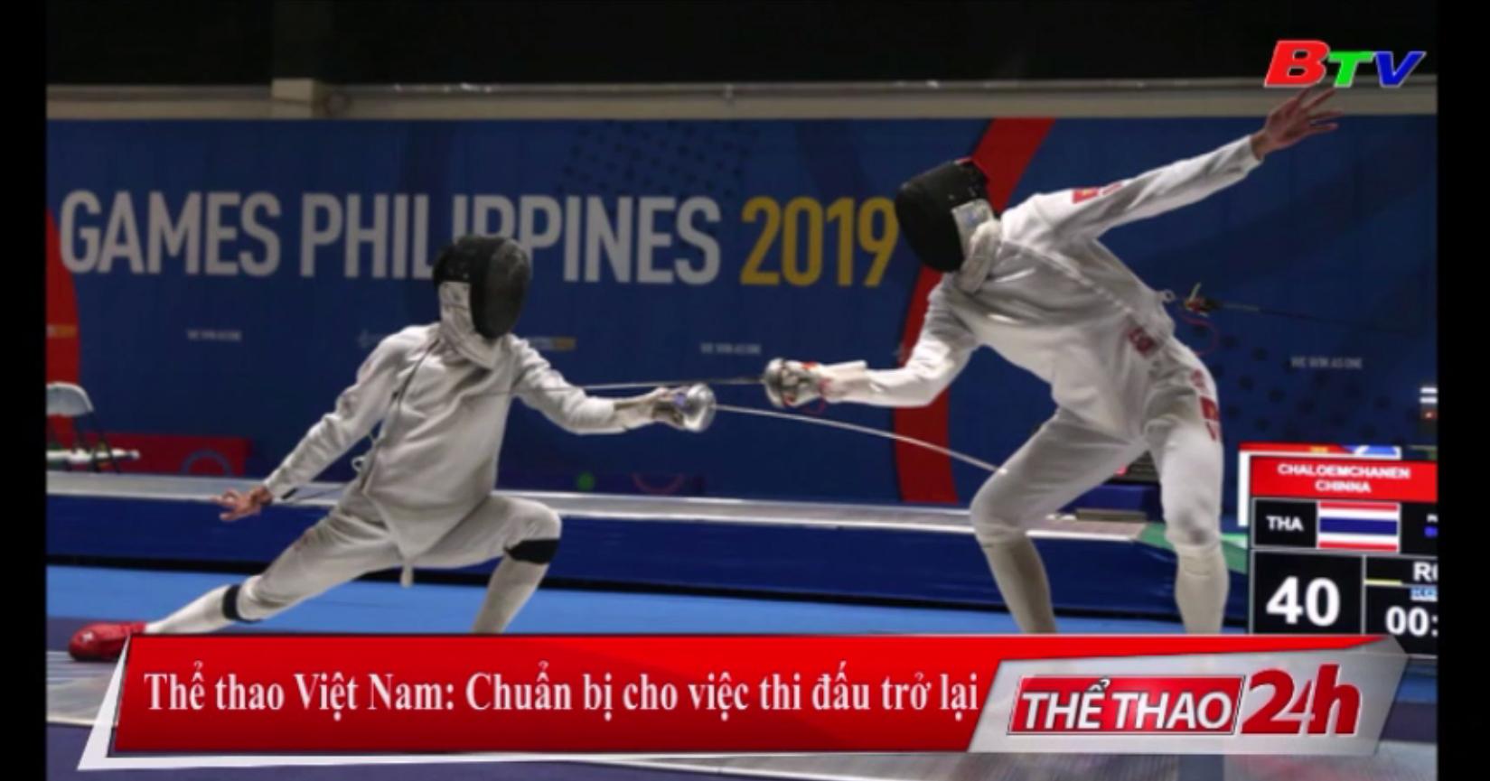 Thể thao Việt Nam - Chuẩn bị cho việc thi đấu trở lại