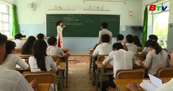 Trường THPT Phước Hòa ôn tập cho kỳ thi quốc gia 2018