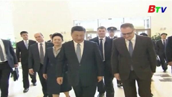 Chủ tịch Trung Quốc trong chuyến thăm chính thức Nga