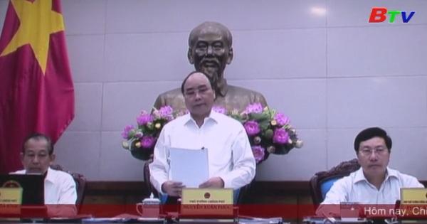 Lãnh đạo tỉnh Bình Dương dự phiên họp trực tuyến thường kỳ của Chính phủ