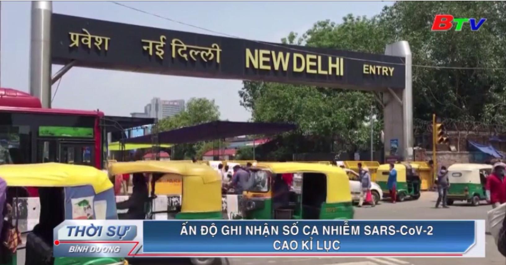 Ấn Độ ghi nhận số ca nhiễm SARS-CoV-2 cao kỉ lục