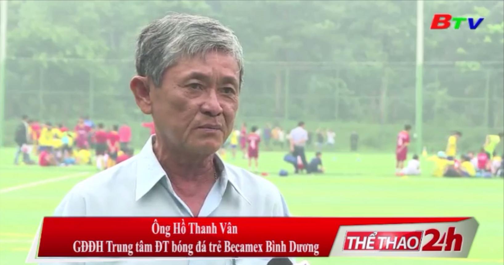 Tuyển sinh tài năng trẻ bóng đá Bình Dương - Hướng đi đúng của bóng đá Đất Thủ