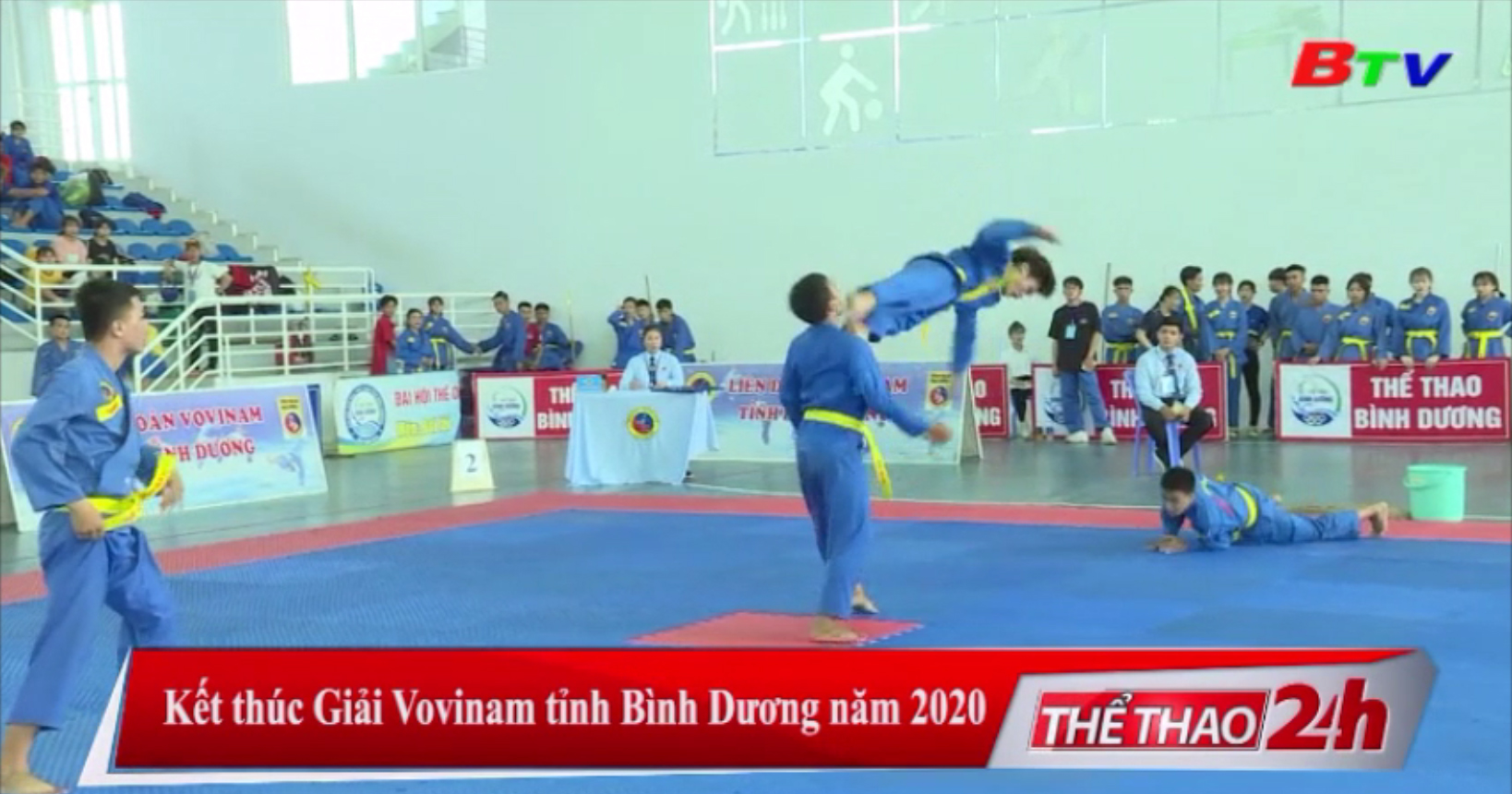 Kết thúc Giải vô địch Vovinam tỉnh Bình Dương năm 2020