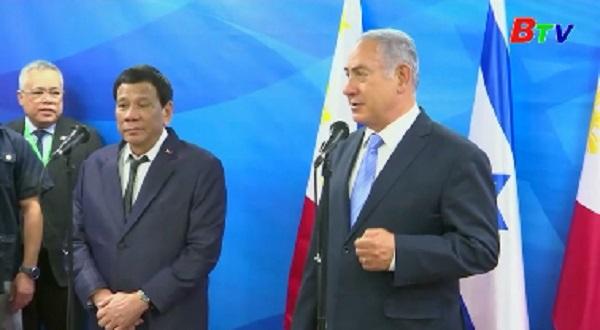 Thăm Israel, tổng thống Philippines tìm nguồn thay thế vũ khí Mỹ