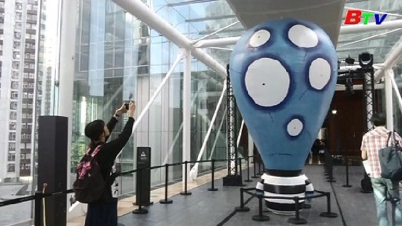 Tim Burton tổ chức triển lãm tại Hong Kong