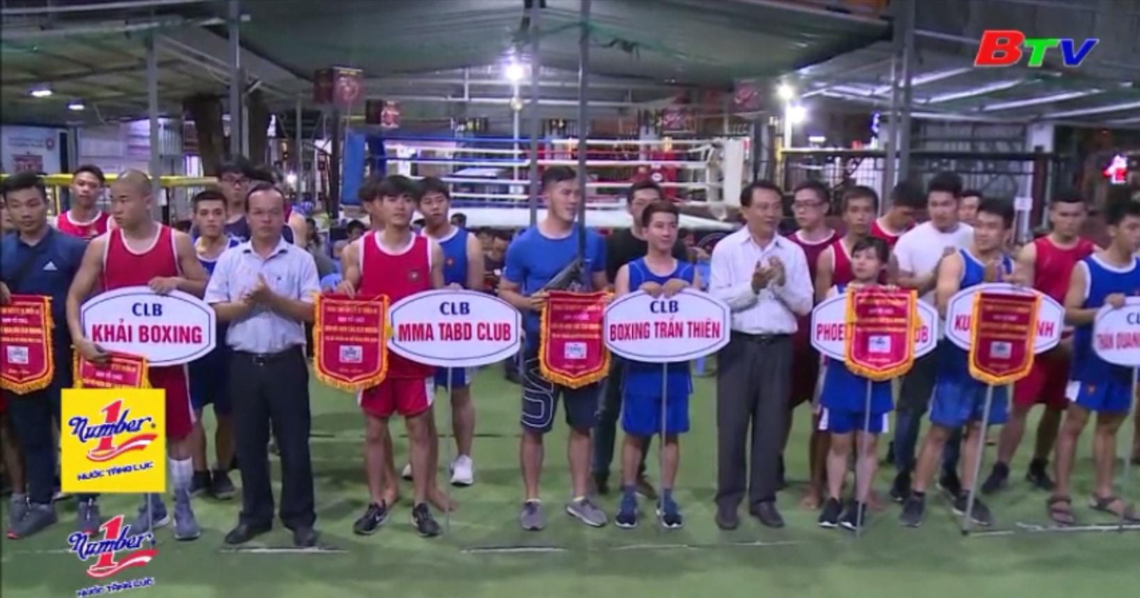 Giải vô địch Boxing các CLB mở rộng năm 2019