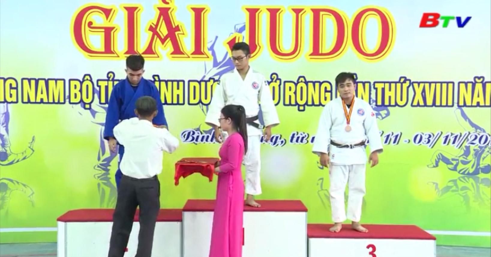 Kết thúc Giải Judo miền Đông Nam bộ tỉnh Bình Dương mở rộng năm 2019