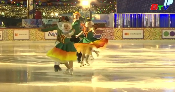 Sân trượt băng ở Nga mở cửa đón du khách