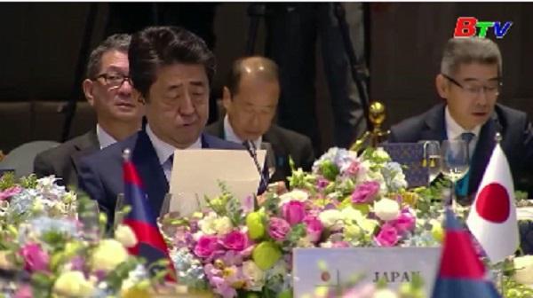 Nhật Bản cam kết tài trợ 3 tỷ USD cho các nước ASEAN