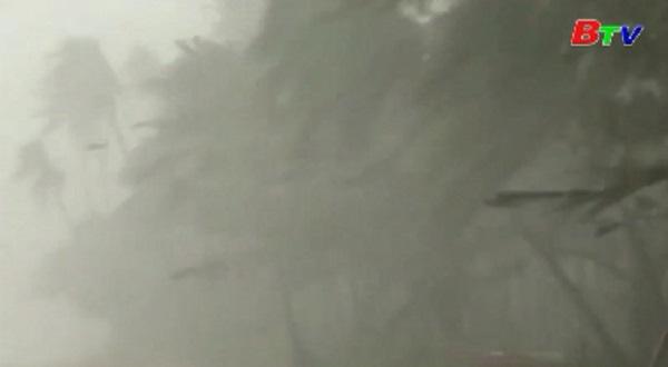 Bão Kammuri đổ bộ vào Philippines trong đêm