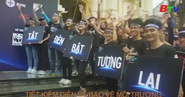 Khởi động chiến dịch giờ trái đất năm 2018 tại Hà Nội