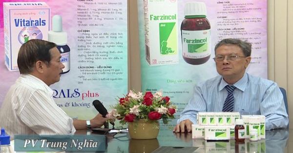 Bổ sung kẽm cho trẻ suy dinh dưỡng và tiêu chảy