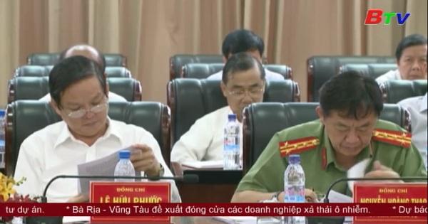 Hội nghị Ban chấp hành Đảng bộ tỉnh Bình Dương lần thứ 10 (khóa IX) mở rộng
