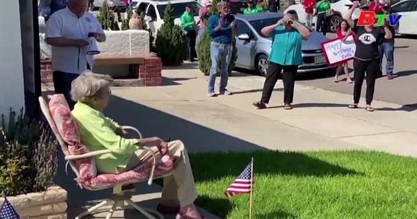 Sinh nhật lần thứ 104 đặc biệt của cựu binh thế chiến lần 2