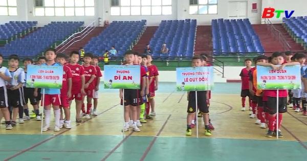 Sôi nổi giải bóng đá U11 thị xã Dĩ An năm 2019