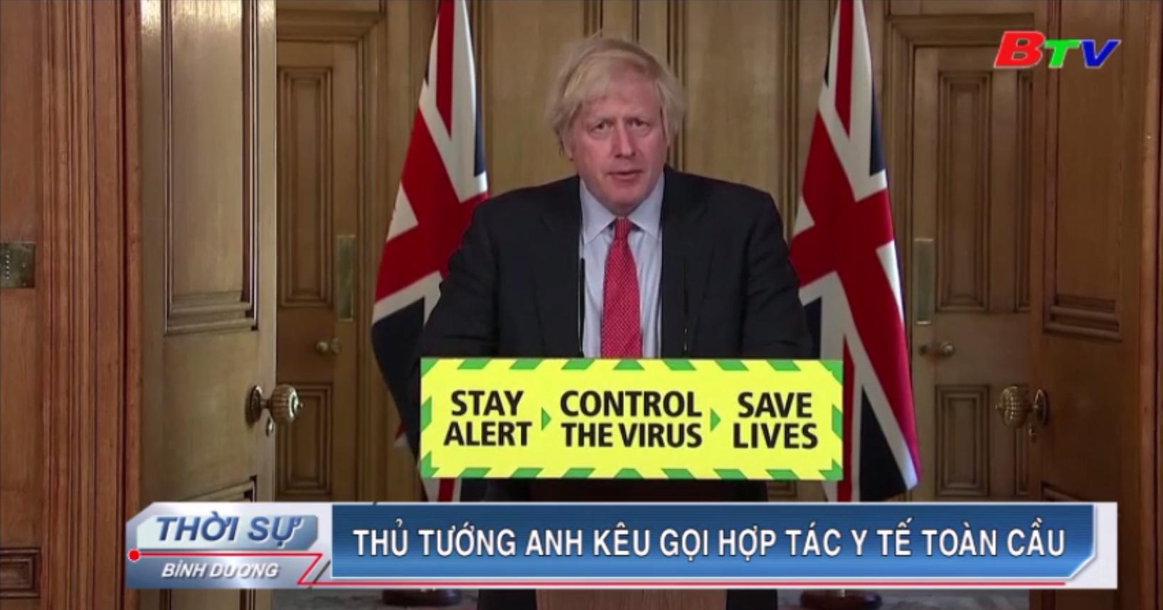 Thủ tướng Anh kêu gọi hợp tác y tế toàn cầu