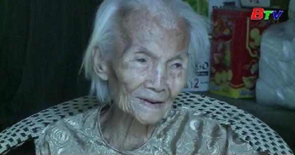 Thăm, tặng quà người cao tuổi tại Tp.Thủ Dầu Một