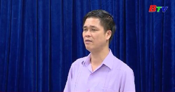 Đoàn kiểm tra Ủy ban Trung ương MTTQ Việt Nam làm việc tại Bình Dương