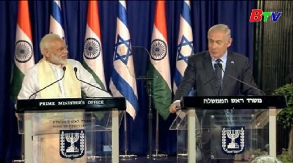 Ấn Độ, Israel tăng cường hợp tác song phương