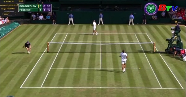 Roger Federer và Novak Djokovic  vào vòng 2 Giải quần vợt Wimbledon 2017