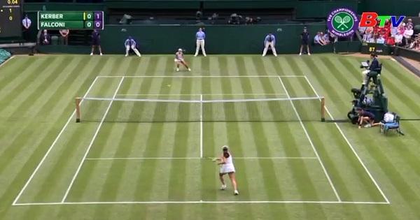 Angelique Kerber và Karolina Pliskova vào vòng 2 Wimbledon 2017