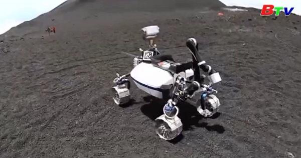 Núi lửa Etna song hành cùng thử nghiệm Robot lên mặt trăng