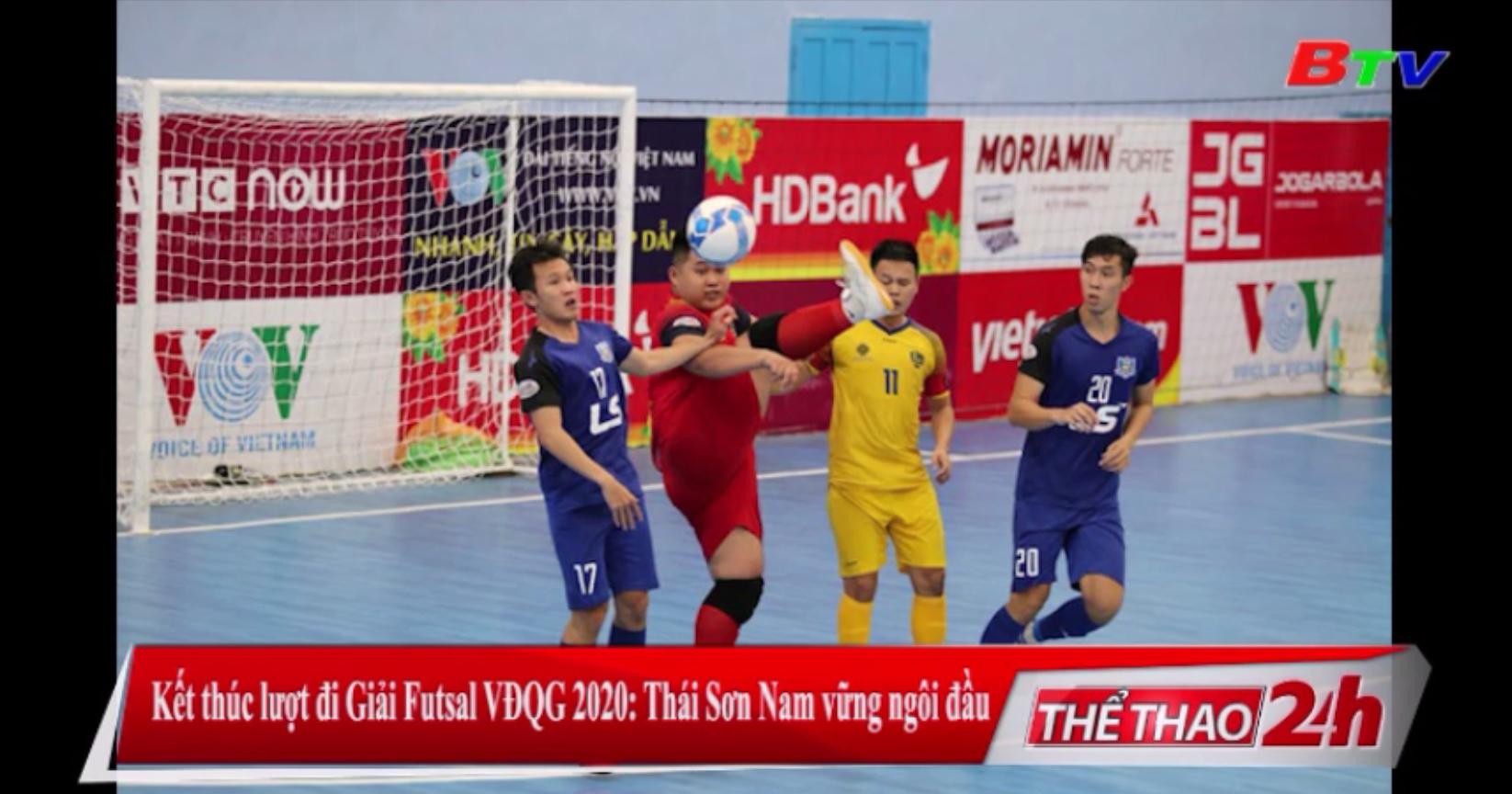 Kết thúc lượt đi Giải Futsal VĐQG 2020 – Thái Sơn Nam vững ngôi đầu