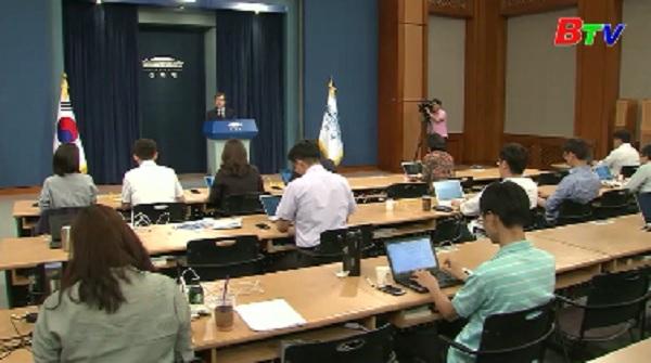 Tổng thống Mỹ và Hàn Quốc chuẩn bị gặp nhau để thảo luận về Triều Tiên