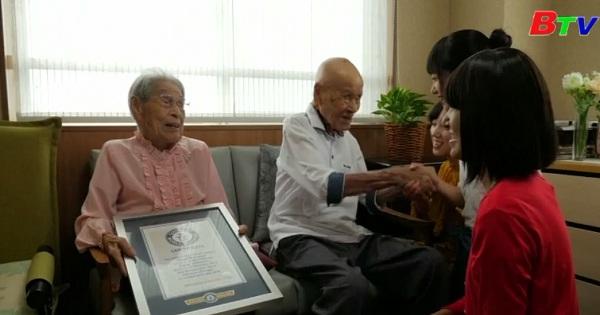 Gặp gỡ cặp vợ chồng lớn tuổi nhất thế giới