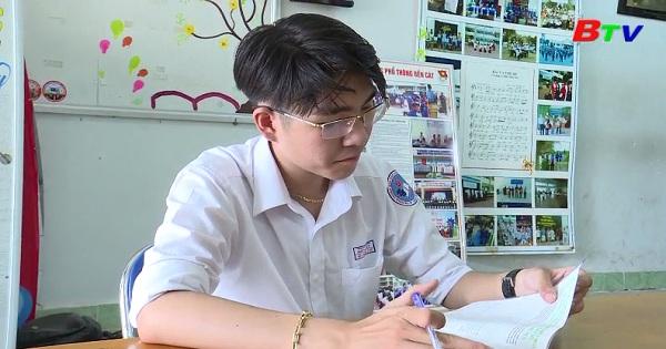 Một học sinh có nhiều sáng tạo trong học tập