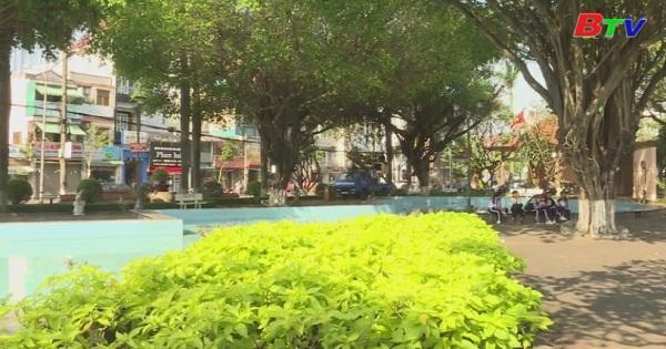 Công viên, hoa viên Mini - Những lá phổi xanh của đô thị Thủ Dầu Một
