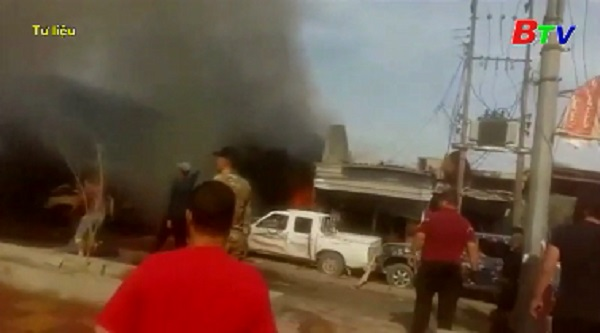 Đánh bom hàng loạt ở thủ đô Iraq làm ít nhất 25 người thương vong