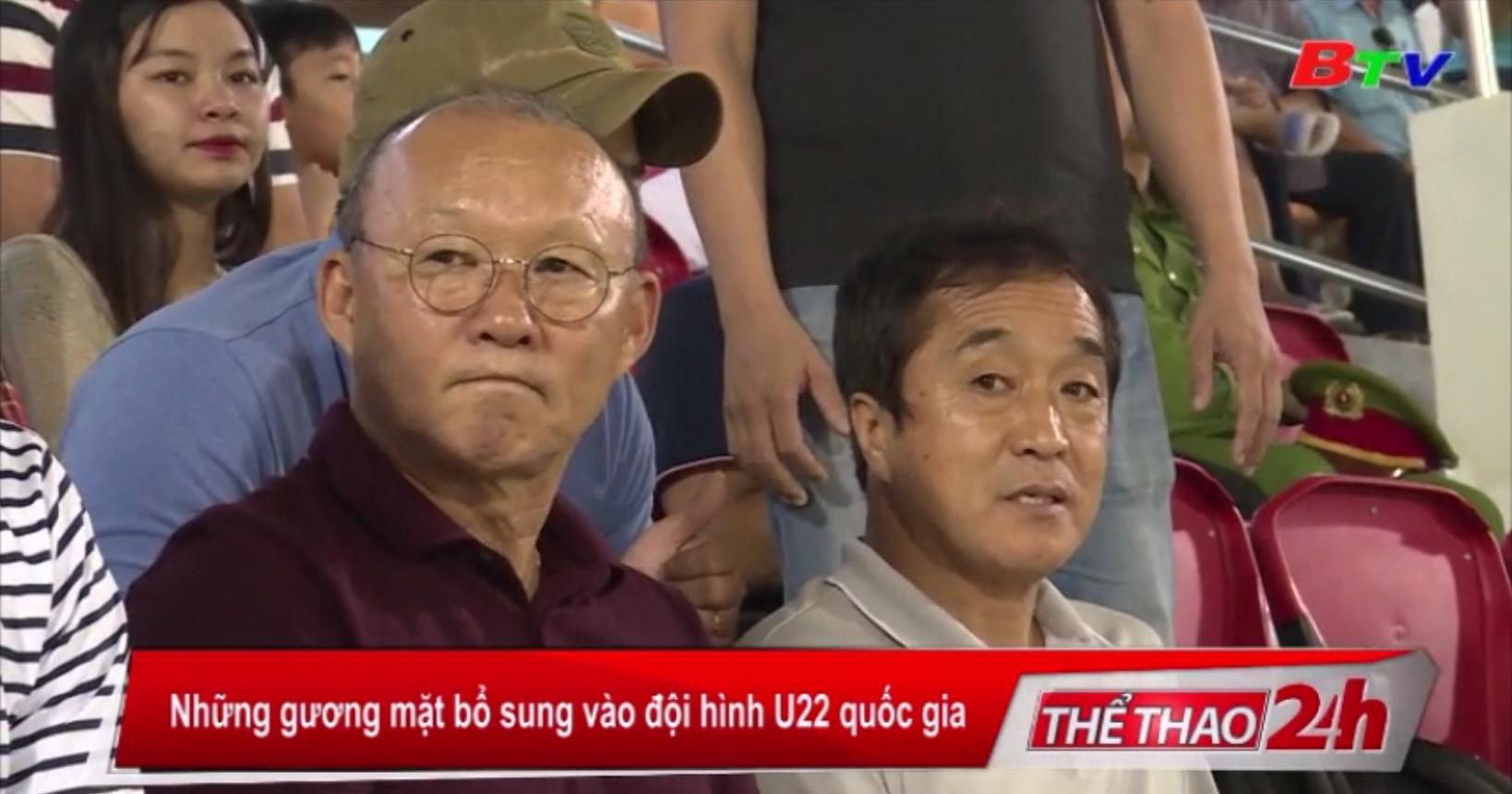Những gương mặt bổ sung vào đội hình U22 Quốc gia
