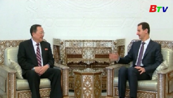Triều Tiên tuyên bố có chung kẻ thù với Syria