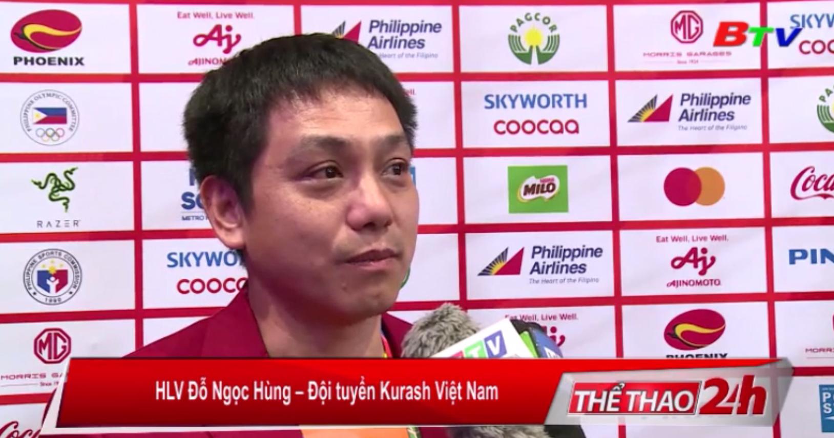 Kurash Việt Nam đoạt 7 Huy chương vàng tại SEA Games 30