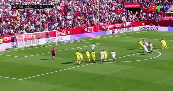 Vòng 21 La Liga - Sevilla 0-0 Villerreal