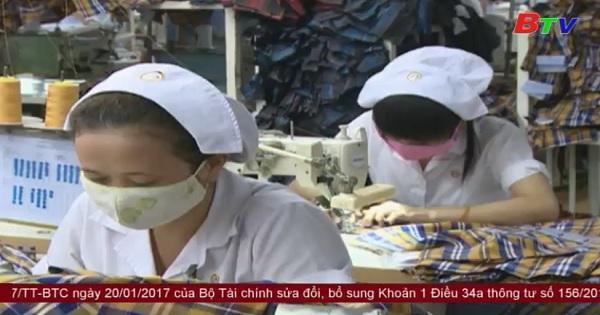 Năm 2017, ngành dệt may Việt Nam dự kiến đạt chỉ tiêu xuất khẩu 30 tỷ USD