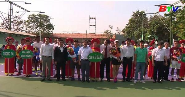 Khai mạc Giải quần vợt Việt Nam năm 2019