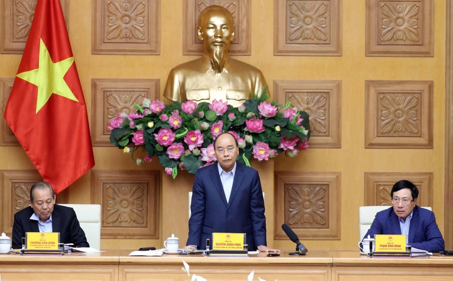 Thủ tướng Nguyễn Xuân Phúc: Đảm bảo nhu cầu cần thiết cho công tác phòng, chống dịch COVID - 19