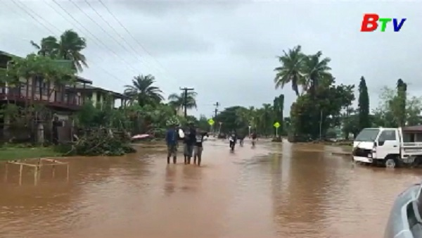 Bão Josie gây thiệt hại nặng tại Fiji