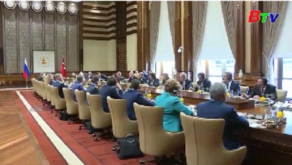 Nga, Thổ Nhĩ Kỳ và Iran cam kết một lệnh ngừng bắn lâu dài ở Syria