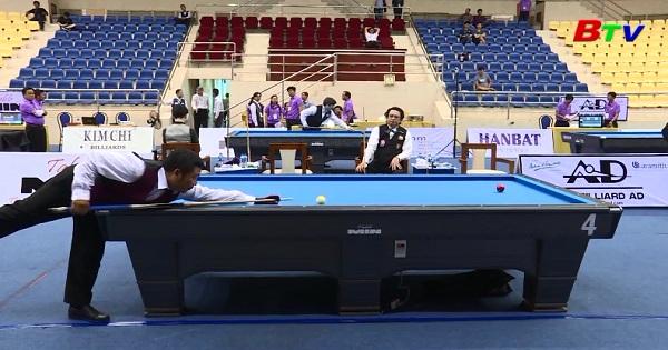 Kết quả Giải Billiards carom vô địch Châu Á lần 9 năm 2018