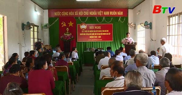 Hội nghị cử tri Ấp 1B xã Phước Hòa