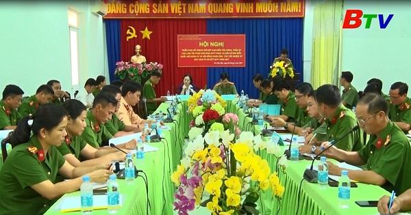 Thành phố Thủ Dầu Một đảm bảo an ninh trật tự bầu cử