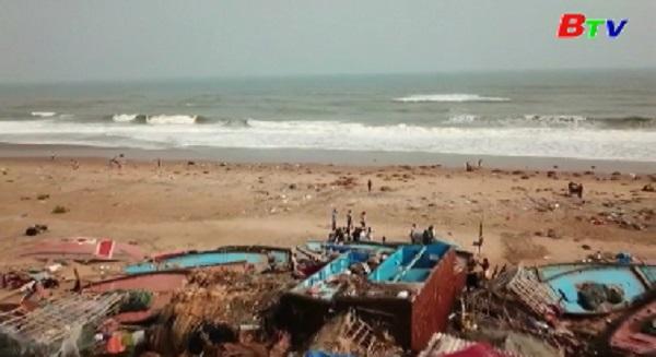 Bão Fani gây nhiều thiệt hại tại Ấn Độ